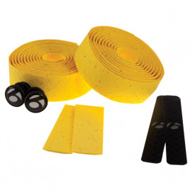 Fita-de-Guidão-Bontrager-Speed-Road-Cortiça-com-Gel-Cork-Tape-Amarelo-Bontrager