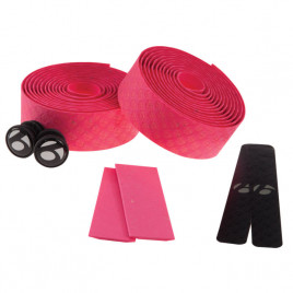 Fita-de-Guidão-Bontrager-Speed-Road-Cortiça-com-Gel-Cork-Tape-Rosa-Bontrager