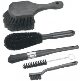 Kit-de-Escovas-Brush-Set-Finish-Line-com-5-Modelos-Finish-Line