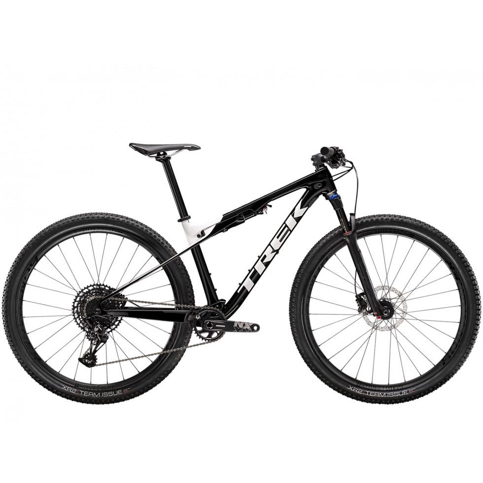Bicicleta Trek Bikes Supercaliber 9.7 T21 Aro 29 Full Suspensão 22 Marchas - Amarelo/azul