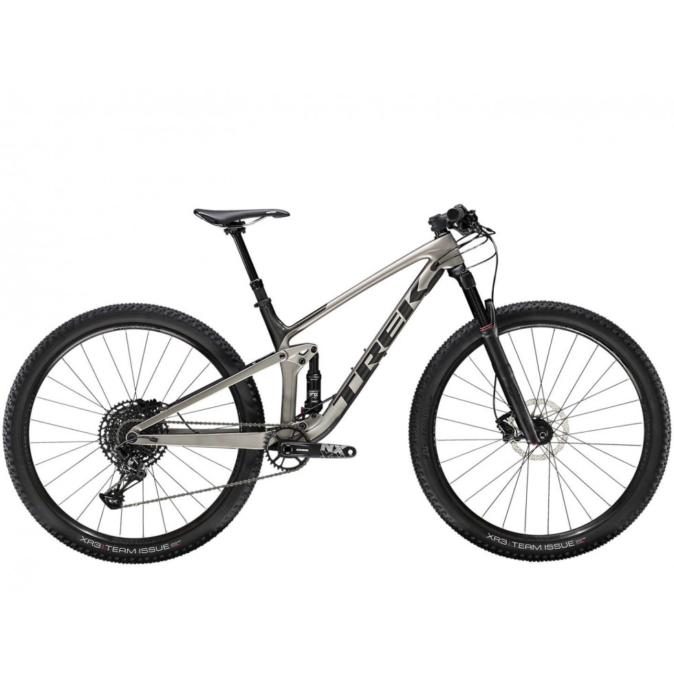 Bicicleta Trek Bikes Fuel 9.7 T18.5 Aro 29 Full Suspensão 24 Marchas - Prata