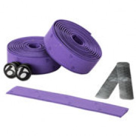 Fita-de-Guidão-Bontrager-Speed-Road-Cortiça-com-Gel-Cork-Tape-Violeta-Bontrager