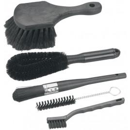 Kit-de-Escovas-Brush-Set-Finish-Line-com-5-Modelos-Finish-Line