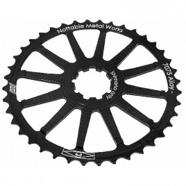 Super-Cog-Nottable-Metal-Works-40D-Para-Cassete-Shimano-Preto-Nottable