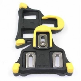Taco-para-Pedal-Shimano-SM-SH11-SPD-SL-Road-Speed-Float- 6-Amarelo-Shimano