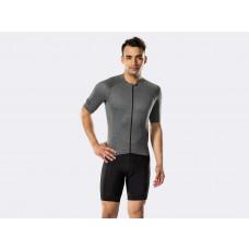 Camisa Bontrager Circuit Manga Curta de Ciclismo Masculino - Cinza - Bontrager