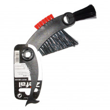 Escova Zéfal Multi Brush para Limpeza de Cassete, Corrente e Coroas de Bicicletas - Zéfal