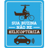 Placas para Bicicleta Respeite um Carro a Menos