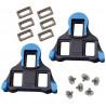 Taco-para-Pedal-Shimano-SM-SH12-SPD-SL-Road-Speed-Float-2-Azul-Shimano